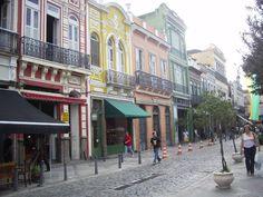 Rio de Janeiro, Brasil - ruas Lapa (centro histórico)