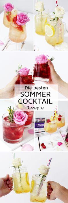 5 super leckere Cocktail Rezepte und Deko Ideen für deine nächste Sommer Party!