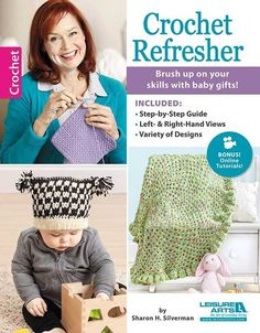 Are you looking to refresh your crochet skills, or maybe looking for a book that compiles the basics of crochet and includes some great designs as well?