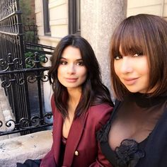 Orange is the New Black - Diane Guerrero and Jackie Cruz