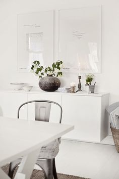Family room on Pinterest - Besta Ikea White Creative