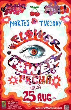 Flower Power at Pacha Ibiza