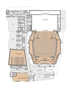Floor Plan: Mikou Design Studio Wins Competition to Redesign Dunkirk Theater