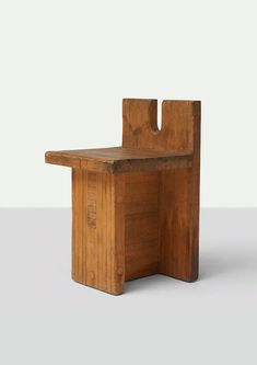 Lina Bo Bardi Side Chair offered by Almond & Co. The chair was created for the center SESC Pompeia in Sao Paulo, Brazil. Furniture Covers, Furniture Upholstery, Furniture Decor, Furniture Design, Minimalist Furniture, Minimalist Home Decor, Vintage Chairs, Wood Design, Cheap Home Decor