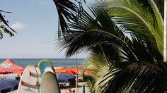 Temporada alta.    4 de enero 2017.  Sayulita Nayarit.    #surf #palmeras #sombrillas #arena #mar