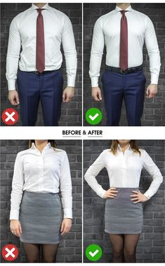 The easiest & most effective way to keep your shirt tucked in & keep you looking professional all day. Say goodbye to wrinkly shirts & say hello to our Shirt Stays Adjustable T-Shirt Tucker. Business Shirts, Business Casual Men, Men Casual, Casual Suit, Suit Fashion, Mens Fashion, Fashion Outfits, Stylish Mens Outfits, Casual Outfits