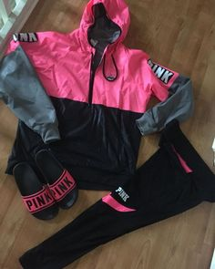 Best Cute Fall Outfits Part 10 Cute Fall Outfits, Sporty Outfits, Swag Outfits, Winter Outfits, Vs Pink Outfit, Pink Outfits, My Outfit, Teen Fashion, Fashion Outfits