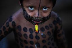 Brazil, Kayapo Boy | Diversity