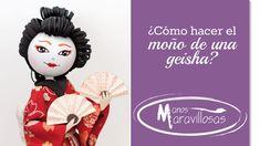 Cómo hacer el moño de la fofucha Geisha Fofuchas 9 de Manos maravillosas