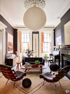 Habitually Chic® » Julianne Moore's Dream Townhouse