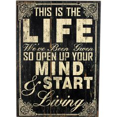 Start Life Wall Décor