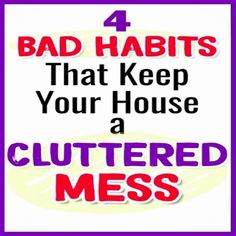 Clutter Control Solutions for Your Messy House. WHY You have a messy house and how to get organized at hom Control Solutions for Your Messy House. WHY You have a messy house and how to get organized at home