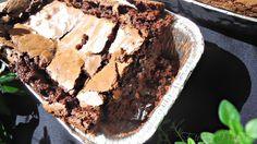 Eternos Prazeres: Bolo de chocolate com casquinha crocante...resista se for capaz!