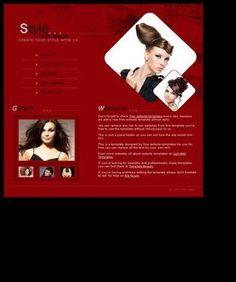 Hair salon template