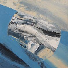 "Saatchi Art Artist: Aleksandra Bouquillon; Abstract Acrylic 2014 Painting ""drifting"""