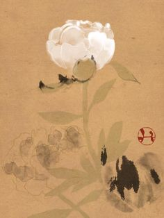 Japan Painting, Painting & Drawing, Watercolor Paintings, Retro Kunst, Retro Art, Japanese Flowers, Japanese Art, Korean Art, Asian Art