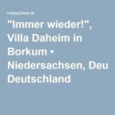 """Börkum - Rektor-Meyer-Pfad → Villa Daheim """"Immer wieder!"""""""