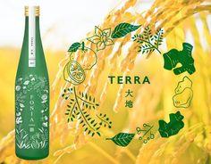 和の柑橘やハーブが華やかに薫るお酒!ボタニカルSAKE~FONIA(フォニア)~ | クラウドファンディング - Makuake(マクアケ) Flyer Design, Packaging Design, It Works, Barley Grass, Banner, Alcohol, Layout, Bottle, Illustration