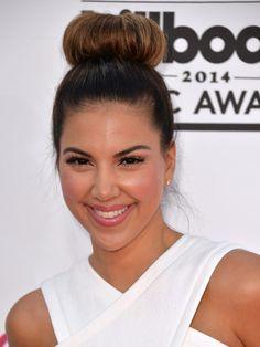 Liz-Hernandez-billboard-awards-2014 Billboard Music Awards 2014, Hollywood Life, Brows, Red Carpet, Cool Hairstyles, Hair Makeup, Face, Inspiration, Eyebrows