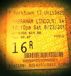 Reviews You Can Use: Abraham Lincoln, Vampire Hunter...