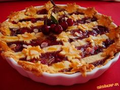 Cherry pie (čerešňový koláč)
