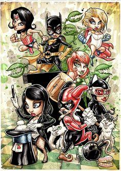 DC GIRL BABY by Vinz-el-Tabanas.deviantart.com on @deviantART