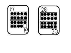 ten frame playing cards 0 20 i would white out the numbers and