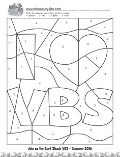 vbs deep sea adventure coloring pages | Relieving Stress in the Midst of VBS Chaos http://blog ...