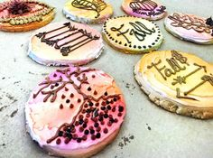 Have fun making Fall cookies. Easy to make and decorate.