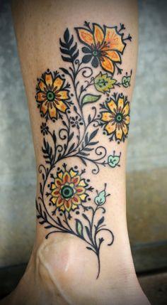 Beautiful flowers #graphic #dutch #color