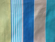 Stripe Quilt Fabric  Blue and Turquoise Stripe Quilt Fabric #SpecialtWeek