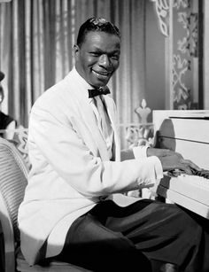 """""""Nat King Cole"""", singer, consummate entertainer and musician, who put Capitol Records on the map is known for his outstanding vocals and endless classics...like """"The Christmas Song"""", """"Unforgettable"""" and many more. But did you also know that Cole was one of the first African Americans in history to host a television variety show?"""