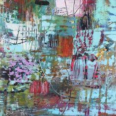 Encaustic Painting by Su Sheedy.