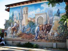 Murales, San Sperate, Sardina