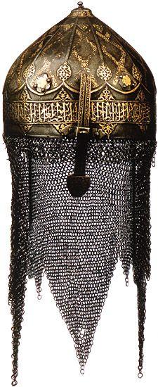 Saracen helmet