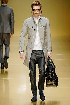 Burberry Prorsum   Spring 2008 Menswear Collection   Style.com