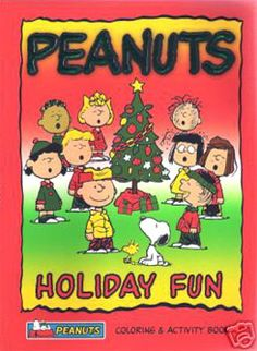snoopy christmas activity book 1980 charles m schulz coloring book pinterest snoopy christmas snoopy and peanuts christmas - Peanuts Coloring Book