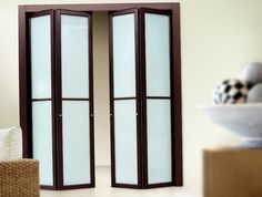 Bifold Closet Doors With Glass   Home Design Ideas