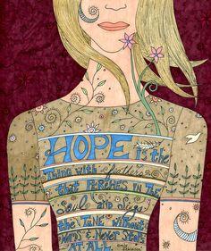 Canción de lámina fina de esperanza positivo por ValerieLorimer