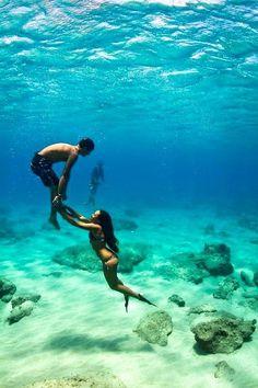 deep deep sea...