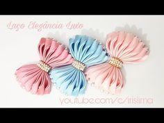 Laço de Cetim Laço Elegância  Luxo   DIY  PAP  TUTORIAL  Iris Lima - YouTube