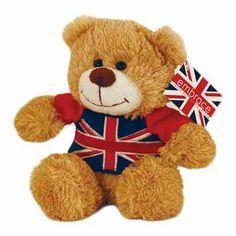 British - Union Jack T-Shirt Bear
