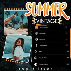 Feed vintage Instagram/ Summer vintage Instagram/ feed Instagram