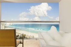 Balcony of Guestroom at the Le Blanc Spa Resort (All Inclusive), Cancun, Mexico