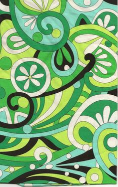 pucci 60s style groovy print
