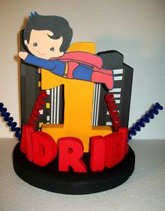 Hey, I found this really awesome Etsy listing at https://www.etsy.com/listing/180667347/superman-boy-3d-custom-personalized-cake