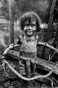 Los niños son la felicidad del mundo y muchas veces nos sorprendemos con su comportamiento.