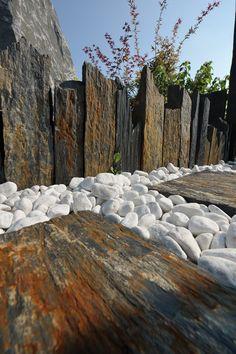 Aranzacje - ŚWIAT KAMIENIA I OGRODU - Łupki, kostka granitowa, piaskowiec