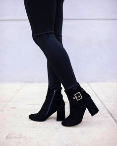The must have booties of the season! We love a little ankle buckle action. #trend