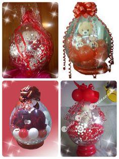 peluches englobados , detalles para regalar Balloon Gift, Balloon Ideas, Balloon Decorations, Valentine Baskets, Valentine Crafts, Valentines, Balloon Arrangements, Flower Arrangements, Stuffed Balloons